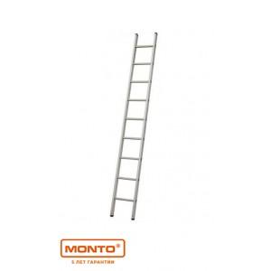 Односекционная приставная лестница с перекладинами  SIBILO 9 ступ. серии MONTO 120519