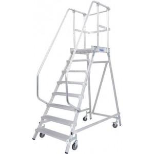 Лестница с платформой 4 ступ. серии STABILO 820143