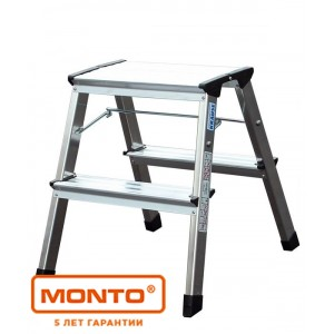 Двухсторонняя передвижная складная подставка ROLLY 2 х 2 синий цвет, серии MONTO 130082