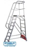 Лестница с платформой VARIO kompakt 12 ступ, серии STABILO 833174