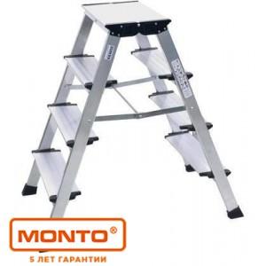 Двухсторонняя складная подставка TREPPO 2 х 4, серии MONTO 126047
