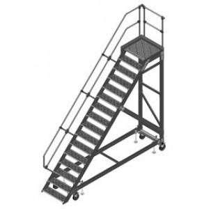 Лестницы с платформой, передвижные