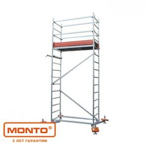 Алюминиевая вышка-тура ClimTec раб. высота - 5м, 1,50х0,60м