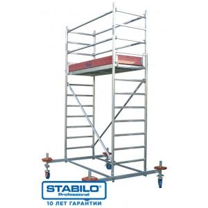 Вышка-Тура STABILO Серии-10, раб. высота-10,4м, 2.00x0.75м