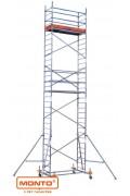 Алюминиевая вышка-тура ProTec, раб. высота-2,90м, 2,00х0,60м