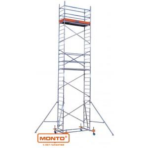 Алюминиевая вышка-тура ProTec, раб. высота-4,30м, 2,00х0,60м