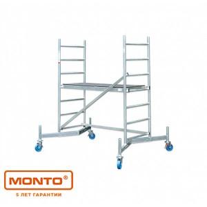 Алюминиевая вышка-тура ClimTec раб. высота - 3м, 1,50х0,60м