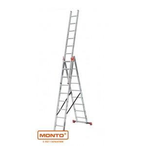 Трехсекционная лестница 3 х 8 TRIBILO серии MONTO 121301