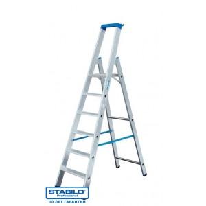 Лестница-стремянка STABILO 8 ступ. рабочая высота-3.90 м