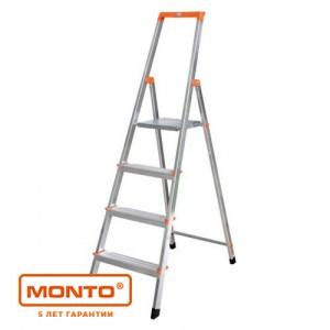 Лестница-стремянка SOLIDY 5 ступ. рабочая высота-3.05 серии MONTO
